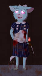 Little Sister YCH - Ember by VampiricLepara