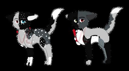 Kittens for Swooflix (Yin x Tox) by VampiricLepara
