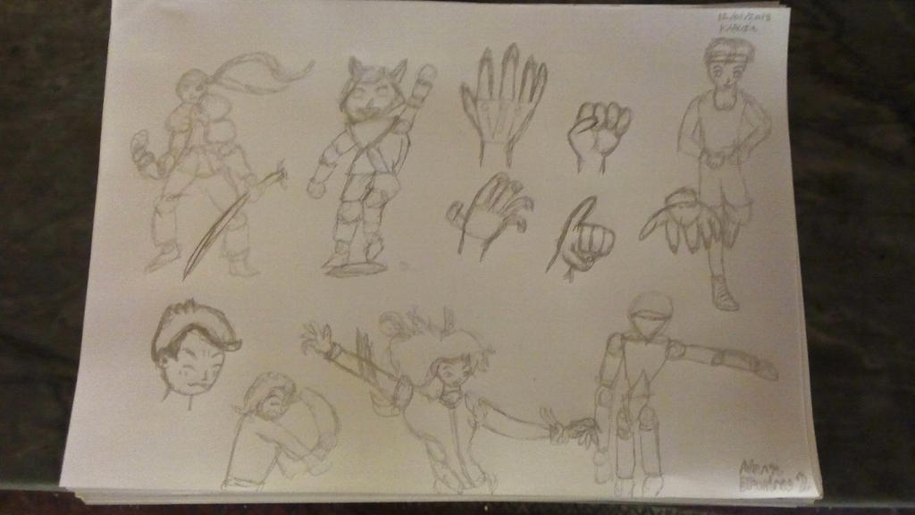 Manga Drawings 2 by Leko2