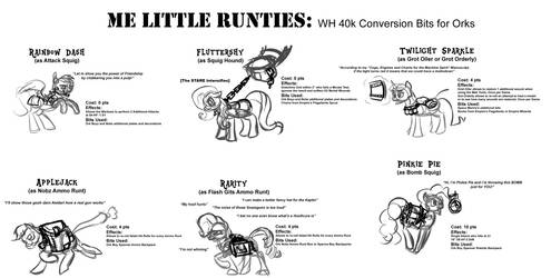 Me Little Runties by Velgarn
