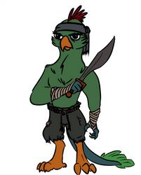 Harpy Pirate Token