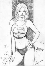 Super girl by Alissonart