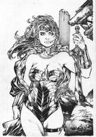 WonderWoman by Alissonart