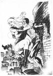 Spider man and Gwen Stace