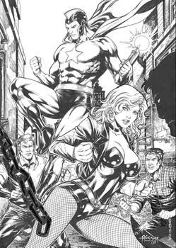 Starman and Black Canary