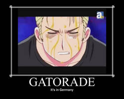 APH Germany Gatorade Poster by Cat101495