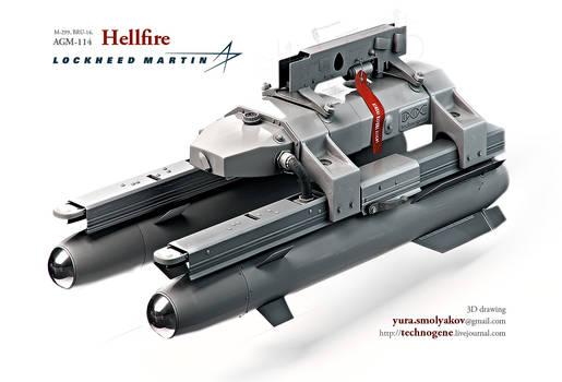 Hellfire missile system
