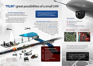 FILIN: unmanned aerial surveillance system, side 2