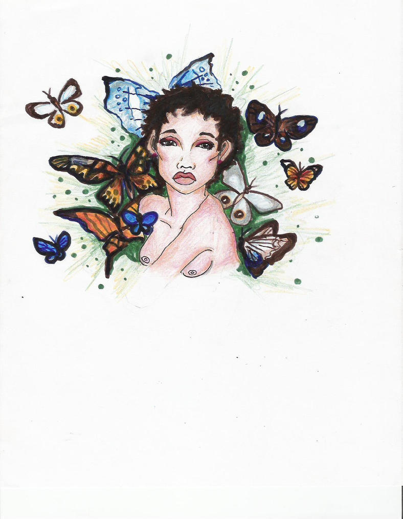 Butterfly Godess by AnosmiA22