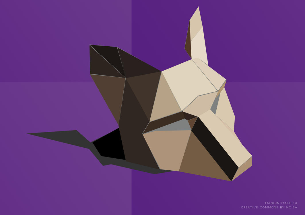 Fox mask low poly vector by webwolfox on deviantart fox mask low poly vector by webwolfox jeuxipadfo Image collections