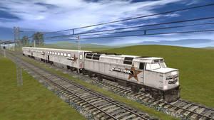 Brown Streak in Trainz
