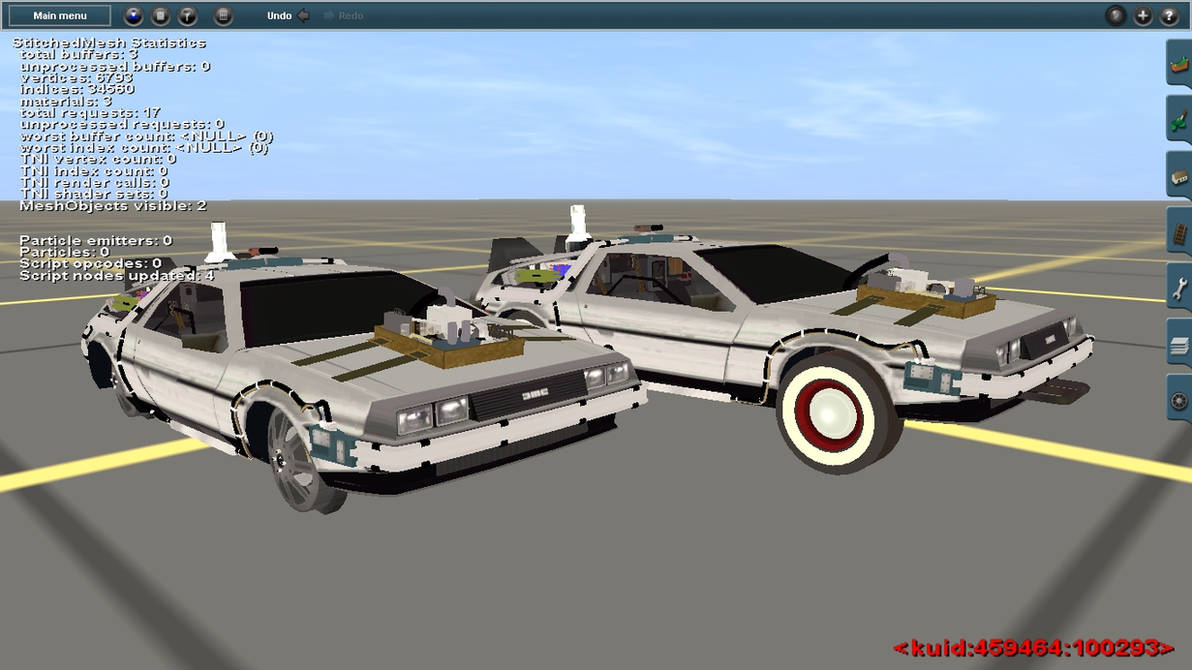 Back To The Future III DeLoreans in Trainz by CaptainKman on DeviantArt