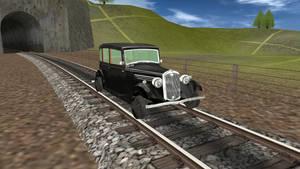 Standard Gauge Wolseley Railcar
