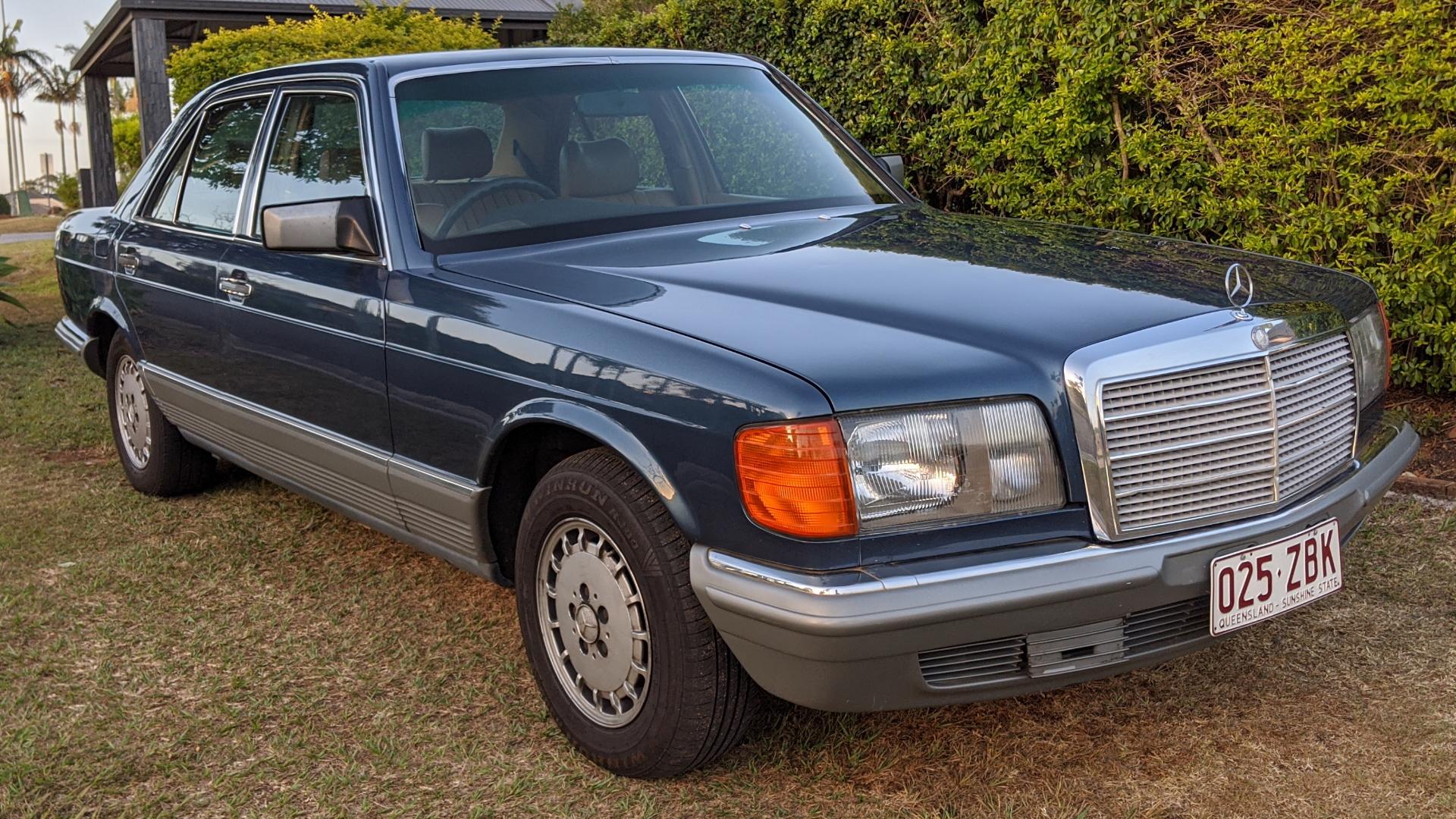 1984 Mercedes-Benz 280SE W126