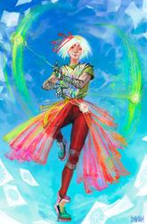 Colibri the yo-yo master [Arcane Idol OCC]