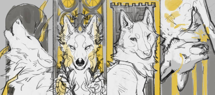 Tarot - Tower [YCH] [2/4 OPEN]