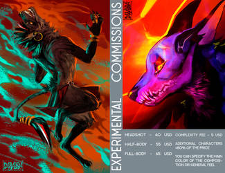 Exeprimental Commissions [closed]