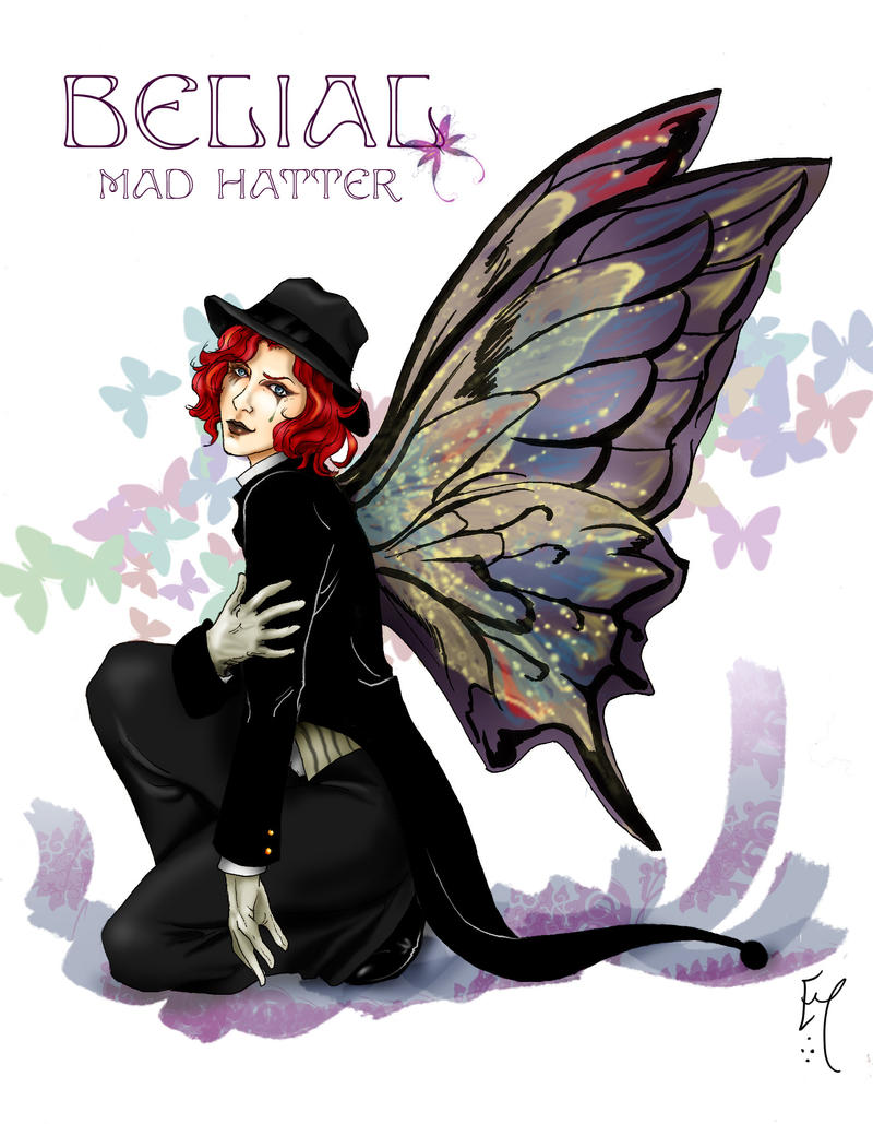 Angel Sanctuary Mad Hatter Mad hatter belial by boudicca-