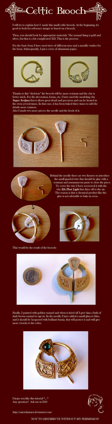 Tutorial - Celtic brooch by Boudicca-Keltoi