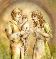 Gamgee Family by Boudicca-Keltoi