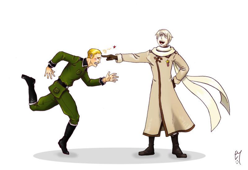 APH - Russia vs Germany by Boudicca-Keltoi