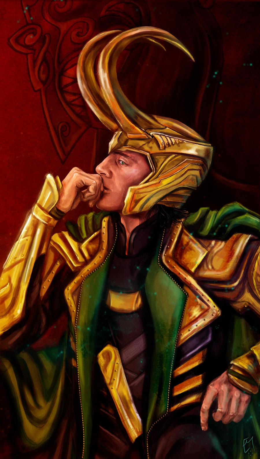 Loki by Boudicca-Keltoi