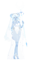 MMD Moon Goddess Showcase by luna-panda-love