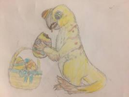 Easter-raptor