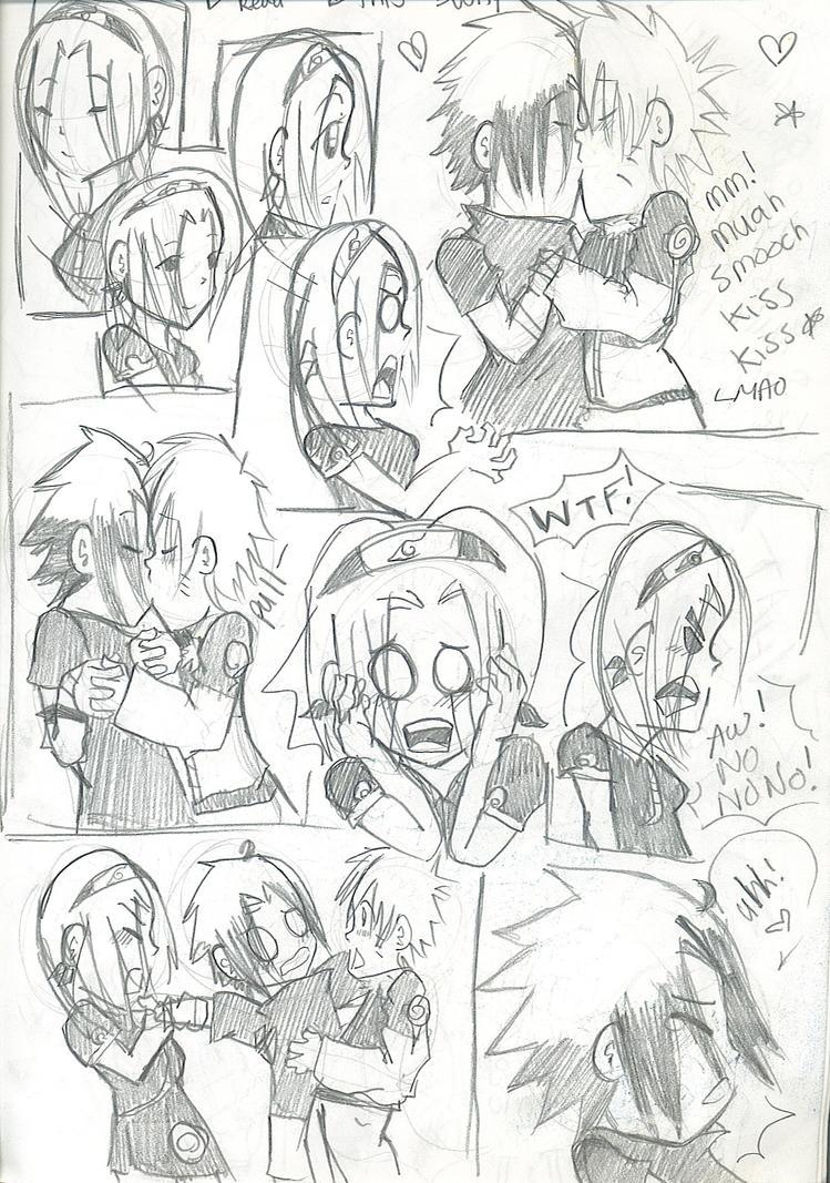 Sasuke's Sensitive Part 1 by hanafenton
