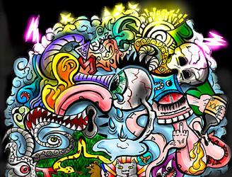 Psicodelic Cloud by MatsH2