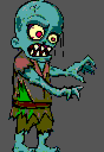 Zombie tier 1 by Diciestsnow
