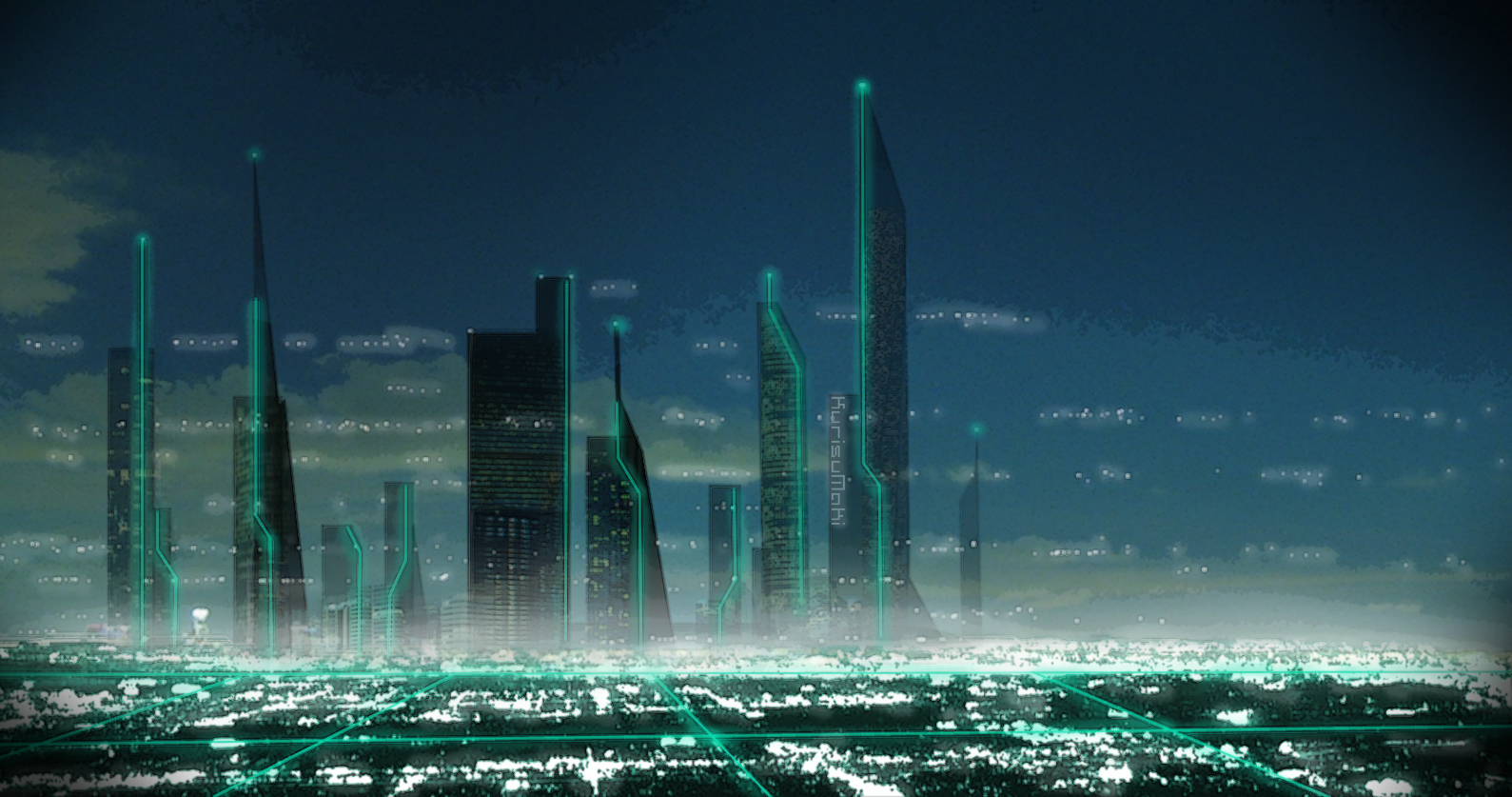 Futuristic City by cMac89