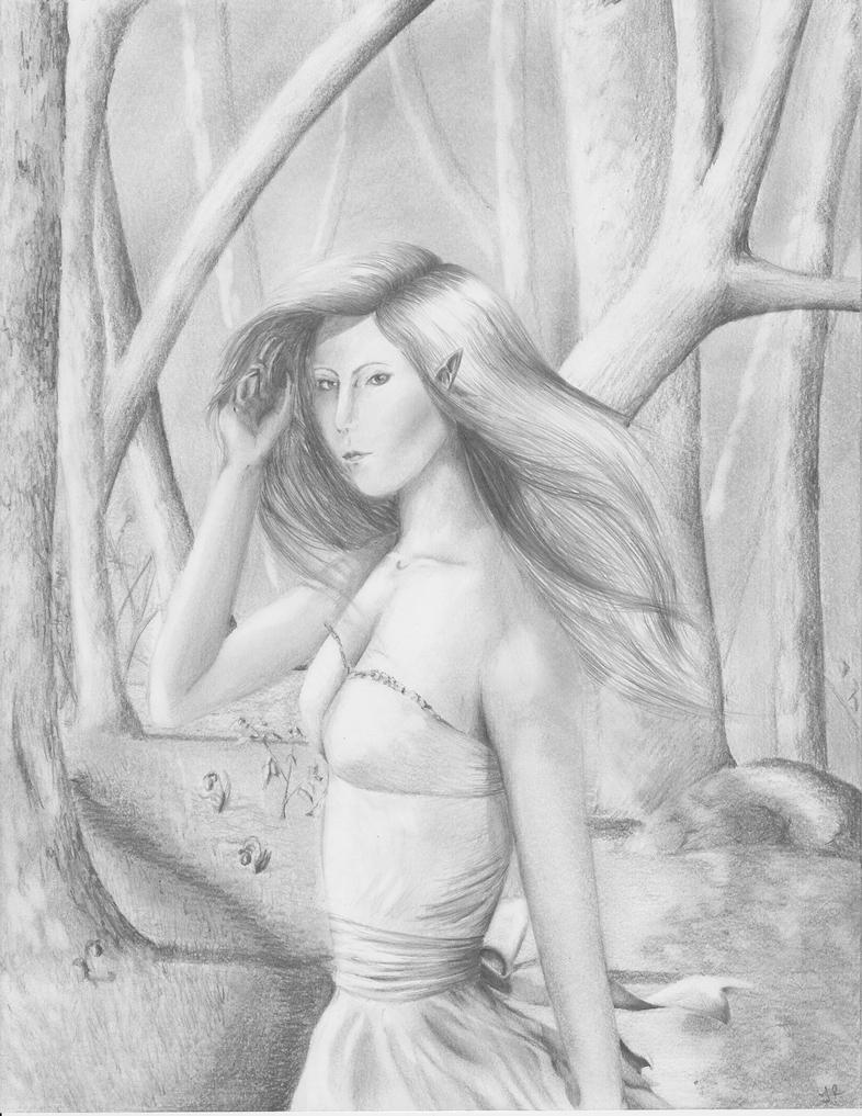 Forest Elf by Silverwing11