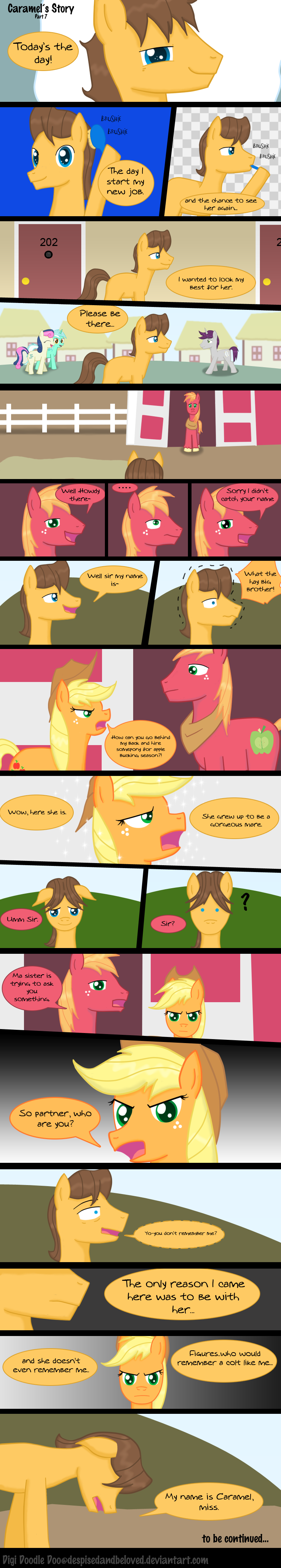 Caramels Story Part 7 by DespisedAndBeloved