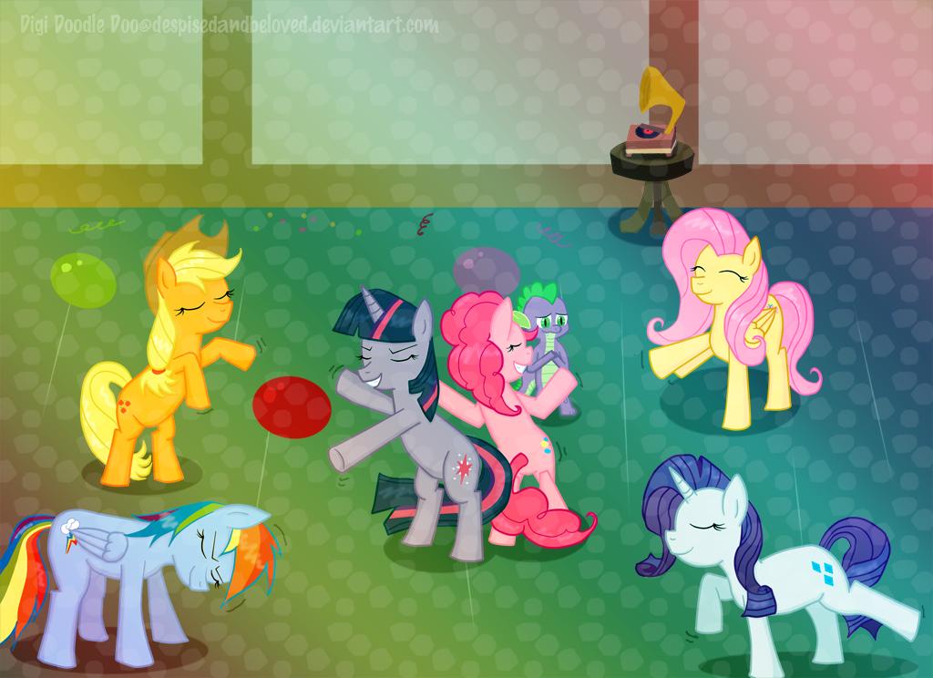 Dance Pony Dance by DespisedAndBeloved