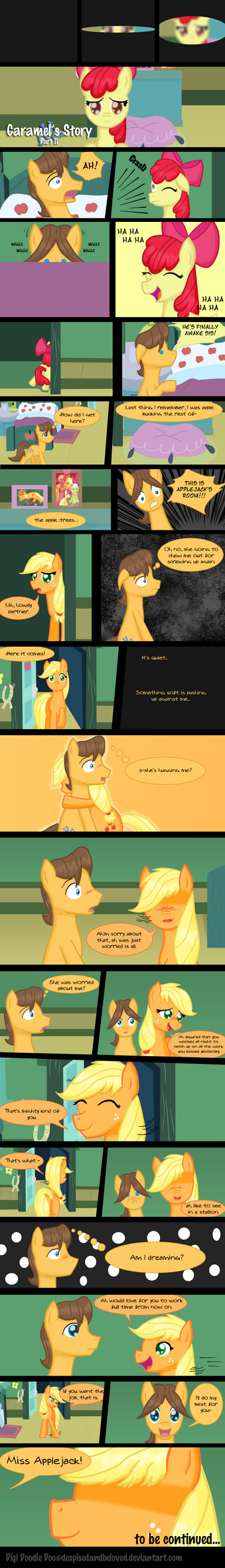 Caramel's Story Part 11 by DespisedAndBeloved