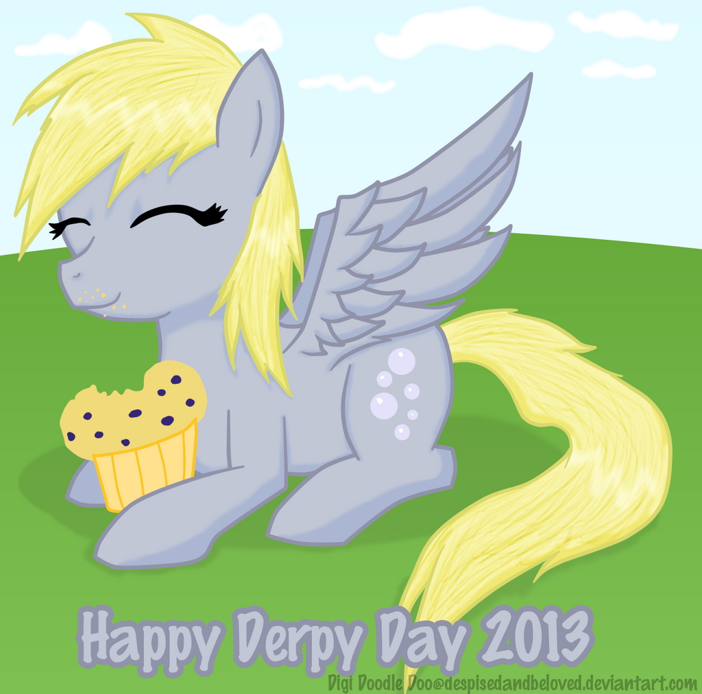 Derpy day 13' by DespisedAndBeloved