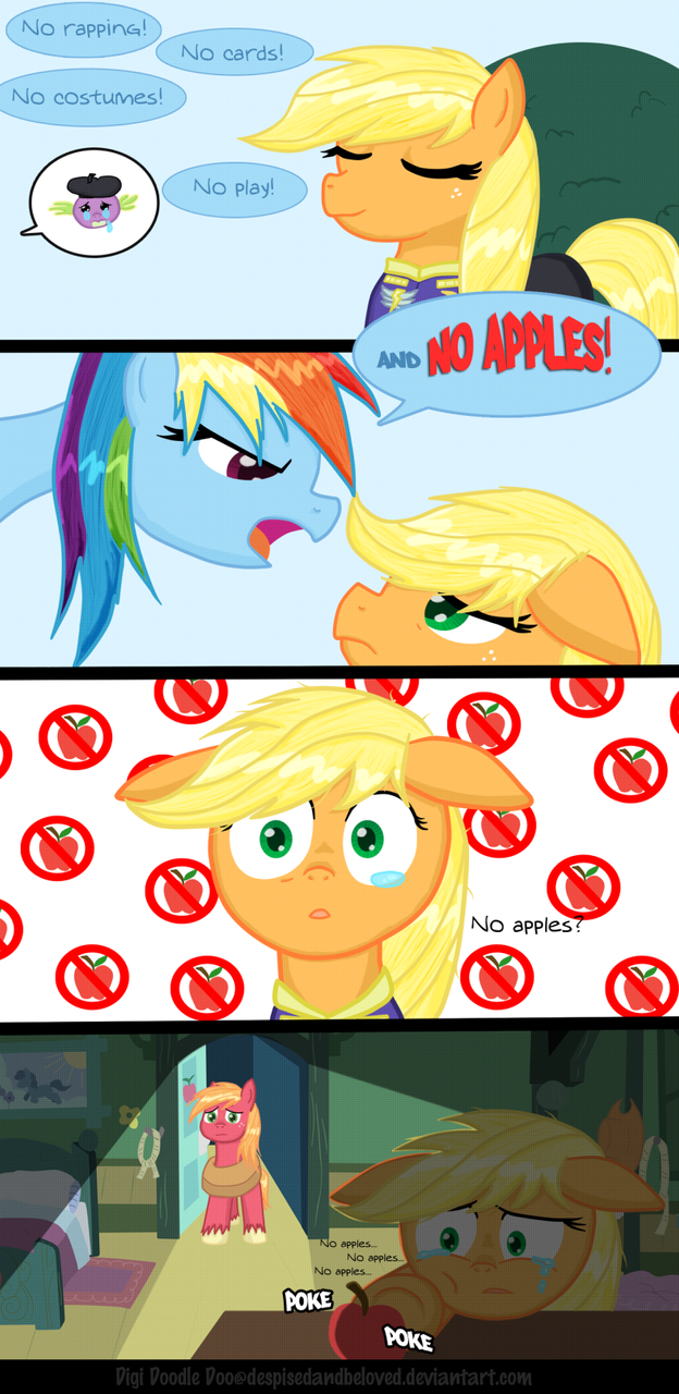 No apples by DespisedAndBeloved