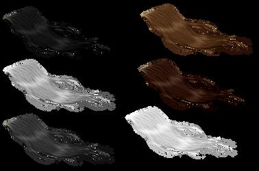 Horse Tails/Forelocks by consideritfox