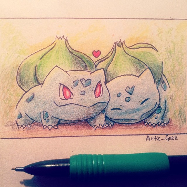 001 Bulbasaur by ArtzxGeek