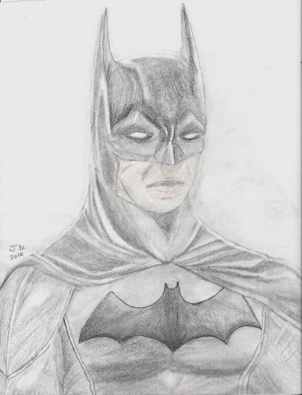 Batman- 2016 - By - J.N. #30001 by EpicNinjaGirlArt-JN
