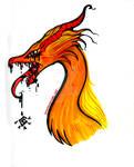contaminated fire dragon