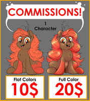 Commissions - June Special by Dragonfoxgirl