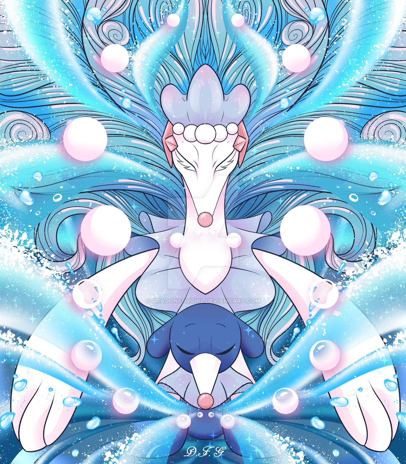The Fairy Dog of the Sea by Dragonfoxgirl