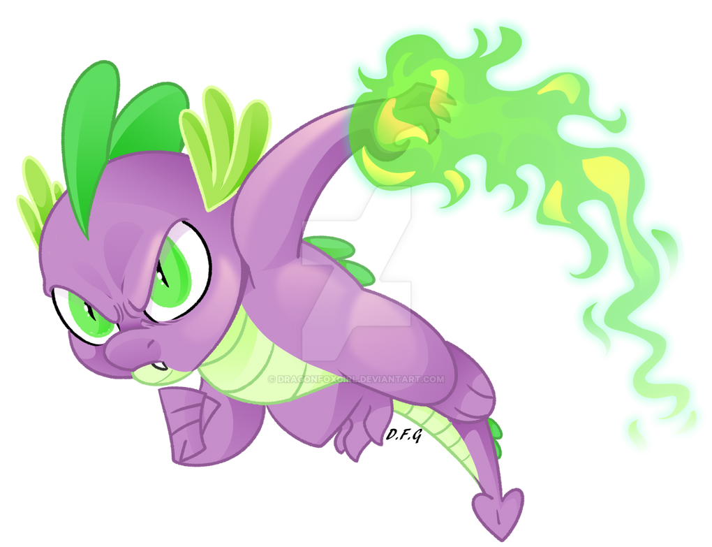Spike the Brave by Dragonfoxgirl