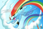 Rainbow Dash - MLP Re-design Concept Art. by Dragonfoxgirl