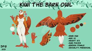 Owl Girl Fursona - Commission
