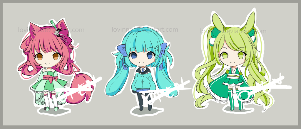 Colorful Adopts - CLOSED by Fukune