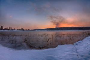Winter Sunset by alex1nax