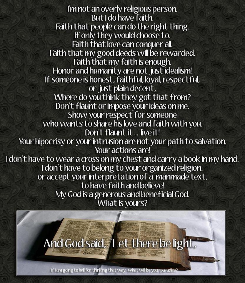 Am I religious by jaidaksghost